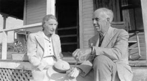 Senior Texas Couple During The Depression