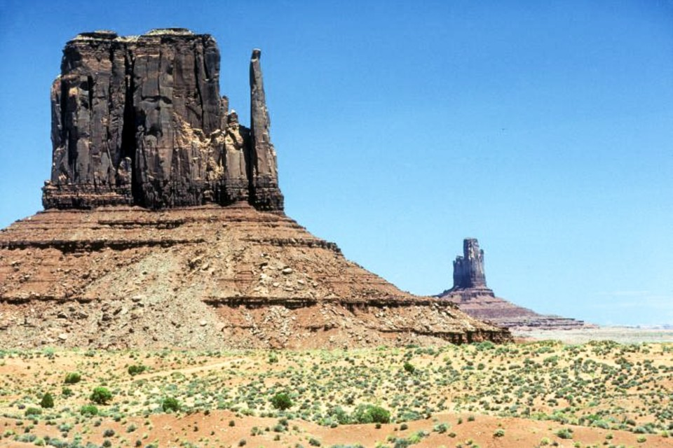 """Mitten"" in Monument Valley."