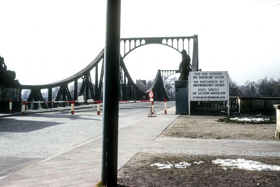 """The """"Bridge of Spies"""" a/k/a/ Glienicke Bridge."""