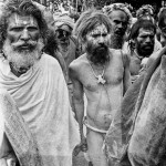 Pilgrims at the Kumbh Mela in Trimbak (Nashik).