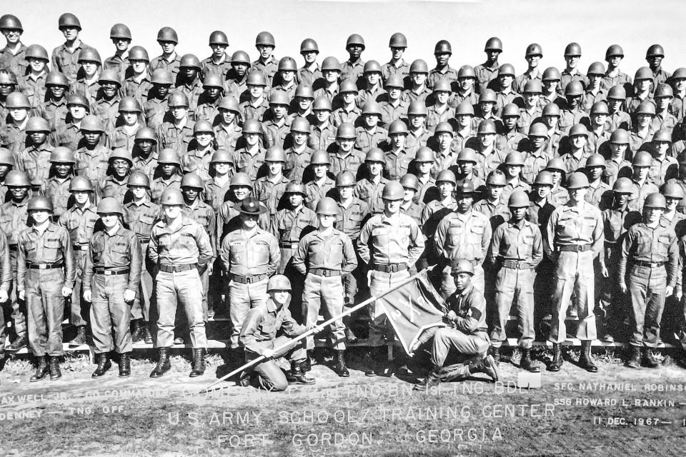 Company C, 2nd Training Battalion, 1st Training Brigade, Dec. '67 - Feb. '68
