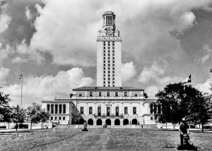 The Texas Tower at the University of Texas c.1940