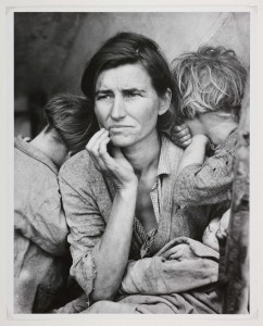 Taken by Dorothea Lange, Nipomo, California (1936).