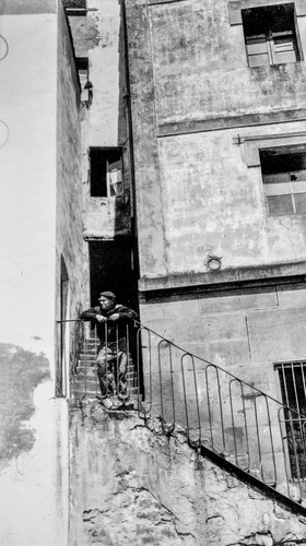 Poverty in San Sebastián, Spain c.1933.