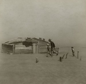 """Dust Storm, Cimmaron County, Oklahoma"" (April, 1936) - Arthur Rothstein"