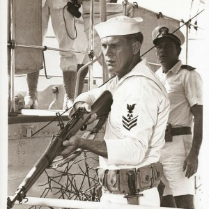 Steve McQueen in The Sand Pebbles