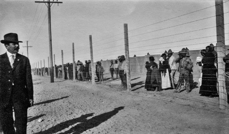U. S. - Mexico Border c.1913