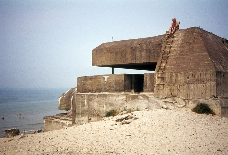 Rommel's Atlantic Wall is now a tourist attraction.