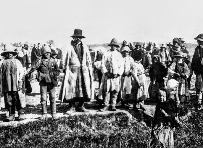 Polish Refugees c.1916