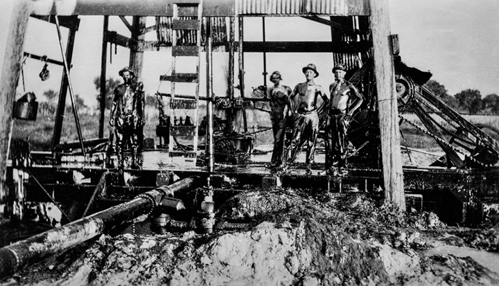 """Roughnecks""; Texas c.1919"