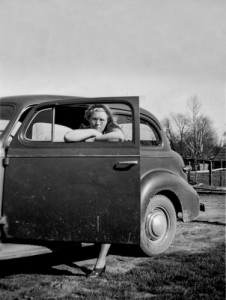 Lady And Her Car, c.1939