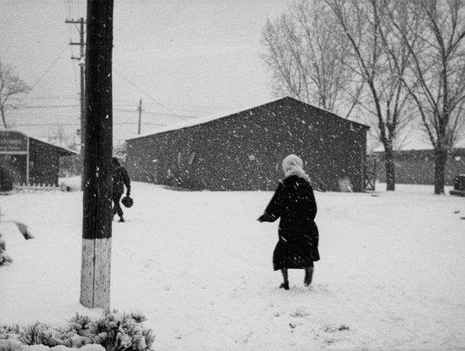 Lady In A Snowstorm, c.1939