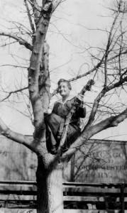 Lady Up A Tree, c.1912