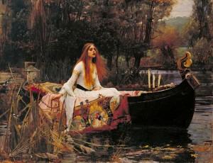 Lady of Shalott - Waterhouse (1888)