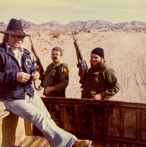 California desert (1980).