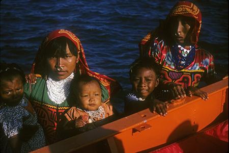 Kuna Women and Children