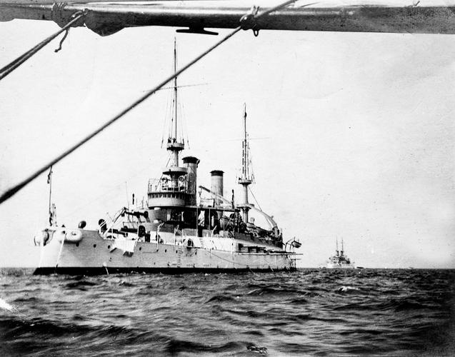 USS Kentucky; c.1908