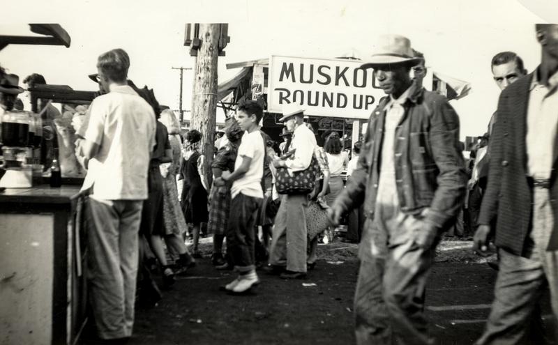 Muskogee, Oklahoma c.1950
