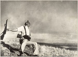 """Loyalisyt Militiaman at the Moment of Death"" - Robert Capa"