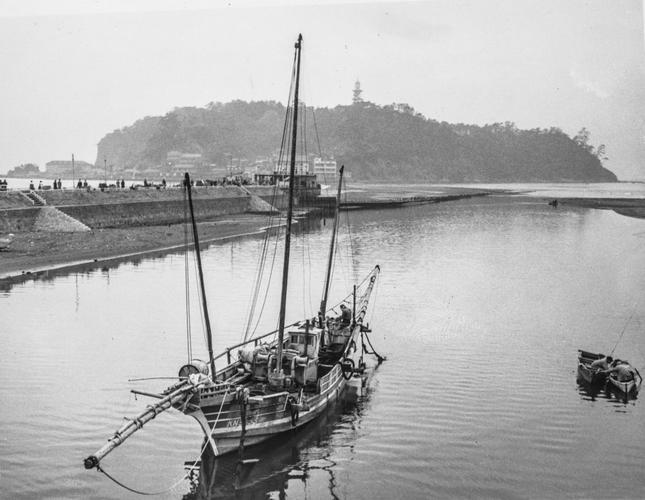 Enoshima Island, Japan (1955)