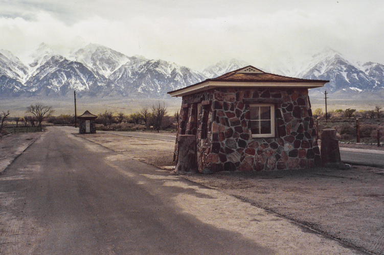Japanese-American War Relocation Camp 1942-1945.