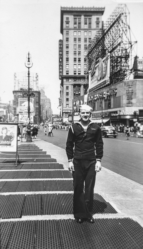 Sailor at Times Square c.1937
